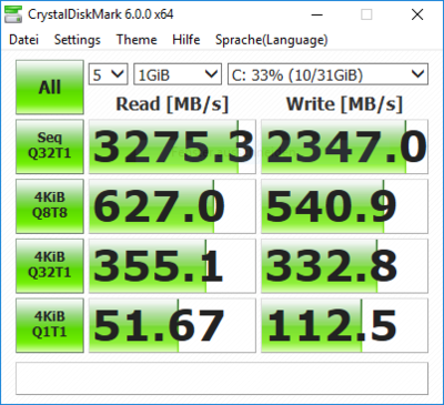 970 PRO NVME Dell T20 Xeon PCIe oben ESXi 6.7 Win10.PNG